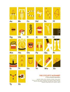 Image of The Cyclist\'s Alphabet