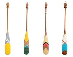 Design Work Life » cataloging inspiration daily #hand painted #paddles