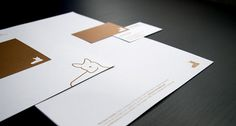 My Deer Identity on the Behance Network #deer #stationary #brand #identity #symbol