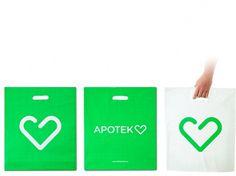 BVD Skandia #packaging #logo #identity #bags