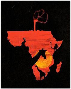 5125736476_e291ec846c_z.jpg 512×640 pixels #blood #sun #africa #animals #sunset