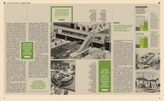 SpecialGreen02 | Flickr - Photo Sharing! #layout #newspaper #magazine #typography