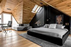 Reconstruction by Raca Architekci #bedroom #interior #decor