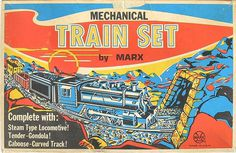 MARXISM #train #silkscreen #packaging #design #vintage #toy