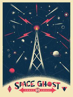 SPACE GHOST - Christopher Monro DeLorenzo