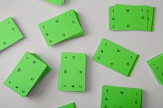 mildred & duck — twig & co. #businesscard #design #texture #green