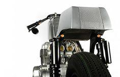 Custom cb750 cafe racer by instrument in portland #computer #modern #motorcycle #racer #cafe #vintage #bike #cb750