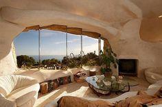 Flintstone-Style House | Cuded #style #house #flintstone