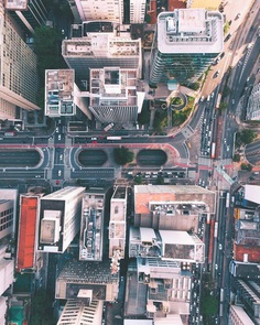 Sao Paolo From Above: Striking Drone Photography by William Goncalves