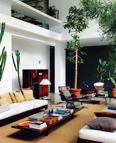 Mid Cent Interior #interior #modern #decor #home #mid #century