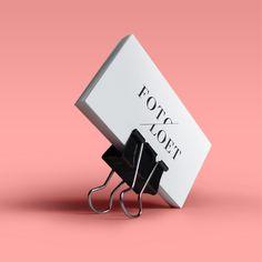 Logo Foto Loet #logodesign #identity #minimal #typography #business card