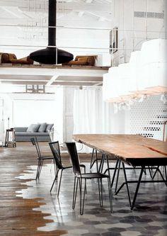 Koolandkreativ: A home in Spello designed by Paola Navone #interior #apartment #white #minimal