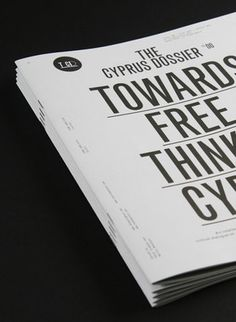 AisleOne Graphic Design, Typography and Grid Systems #caps #print #typo