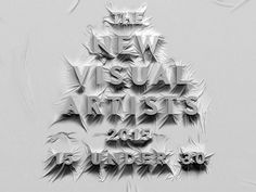 New Visual Artists 2015 by Ryan Romanes . AGDA Awards