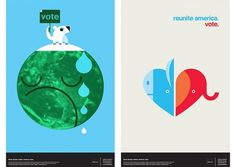 Office | Work | AIGA / Getting out the vote #office #vote