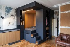 50 Small Studio Apartment Design Ideas (2019) – Modern, Tiny & Clever - InteriorZine #design #furniture #modernfurniture #interior #decor