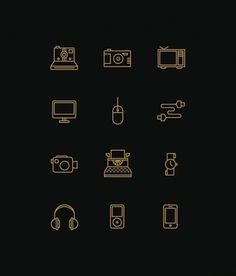 Icons on the Behance Network #icons