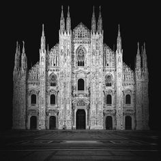 Black and White Architecture Photography by Mattia Mognetti