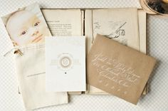 Google Reader (1) #calligraphy #design #vintage #announcement #baby
