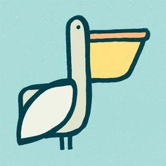 The Birds & The Birds #pelican #bird #birds #illustration #pen