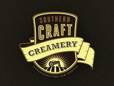 Scc_concept_1__chosen_wip_ #badge #vector #branding #creamery #vintage #logo