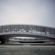 Dezeen » Blog Archive » Rolex Learning Center by SANAA #center #switzerland #architecture #learning #epfl