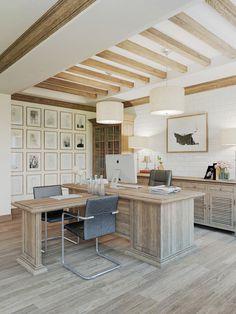 Head Office beautiful classic design by Anton Medvedev - HomeWorldDesign (3) #interior #office #design #space #work