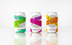 "Packaging for Vocation Brewery Craft Lager by Robot Food ""Having positioned, named and created the Vocation brand and original line-up in"