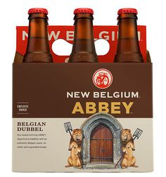 New Belgium Abbey #packaging #beer