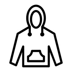 See more icon inspiration related to sweatshirt, style, fashion, clothes, hoodie and clothing on Flaticon.