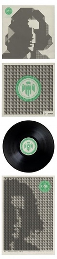 RECORDS / ALBUMS III on the Behance Network #record #print #graphic #poster