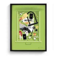 Junk Drawer prints by Matt Stevens #drawer #junk
