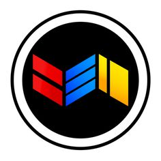 BEN is my name, this is my logo. #logo #benmode #circle #fold #paper