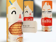 Blabbermouth Biscuit Branding #packaging #identity #brand #biscuit