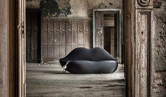 Bocca, The Sofa Shaped as Giant Lips #sofa #design #furniture