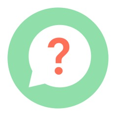 See more icon inspiration related to question, help, faq, question mark, button, speech bubble, signs and communications on Flaticon.