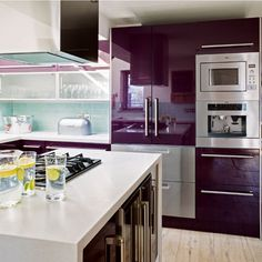 Interior Inspiration: 12 Kitchens with Color Photo