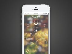 Weather App #iphone #app #weather