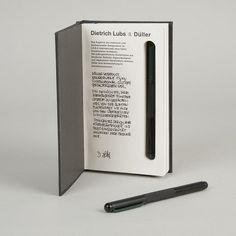 Düller Writing Instruments | Goods | The Ghostly Store #design #book