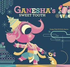 Ganesha's Sweet Tooth #illustration #book #child #india