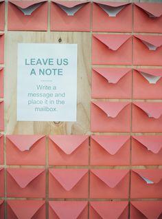 envelope guestbooks #envelope