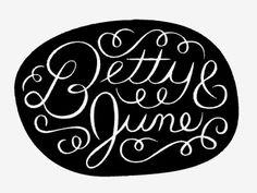 Dribbble - Betty & June by Ryan Feerer #betty #dribbble #ryan #june #feerer