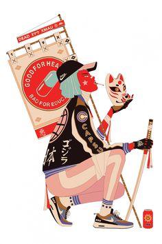 Original Streetwear Illustrations by Mau Lencinas – Fubiz Media