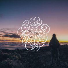 You're Of Infinite Worth - 📷 by Stefan Kunze / @unsplash - #motivation #inspiration #infiniteworth #calligraphy #lettering #letteringpr