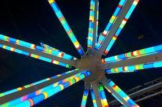 Bright Star (Sirius) by Spencer Finch #fluorescent #finch #art #lighting #spencer