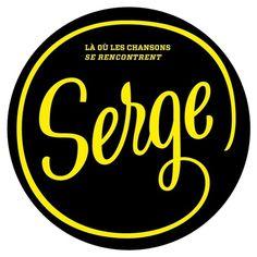 SOIRÉE SERGE avec LISE + LISA PORTELLI + NACH + LOANE - Du 30/03/2011 19:30 au 31/03/2011 01:30 - LOANE #serge #yellow #black #chanson #gainsbourg #music #logo
