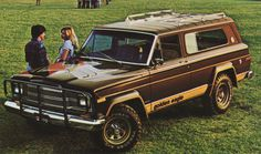 Sable Brown 1979 AMC Jeep Cherokee Golden Eagle #jeep #eagle #sj #golden #cherokee