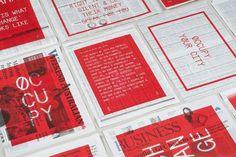 Occupied Mono Typeface : Luke Robertson #typography