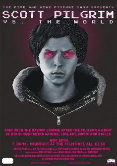 Scott Pilgrim by Mute #movie #mute #poster #muteart