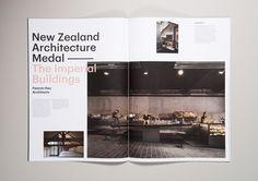 #NZ #architecture #magazine #layout #typography
